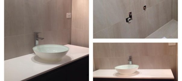 A Renovated bathroom in Wollongong